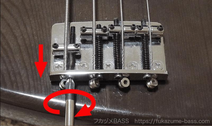 ベースのオクターブ調整のやり方6