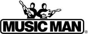 ミュージックマンのロゴ
