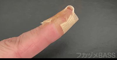 ベースの練習で指が痛い06