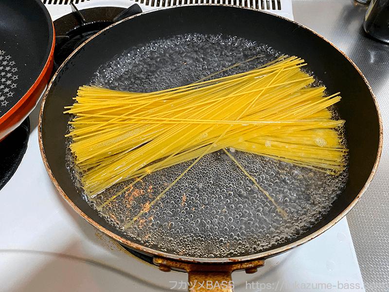 ジャコパスタのレシピ